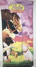 Babe & Friends Vintage Universal Studios Hollywood Collectible Beach Bath Towel