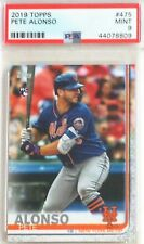Pete Alonso 2019 Topps #475 Rookie Card - PSA 9 Mint