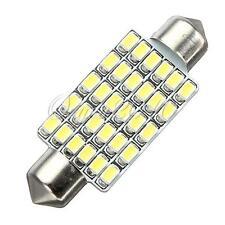 "42MM 1.65"" 30 LED 3020-SMD Pure White Car Interior Festoon Dome Light Lamp Bulb"