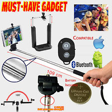 Monopod Selfie Stick Telescopic & Bluetooth Wireless Remote Mobile Phone holder