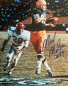 """MAX McGEE Green Bay Packers Autographed 8x10 PHOTO (#3)  ~ """"1st TD in S.B. W/COA"""