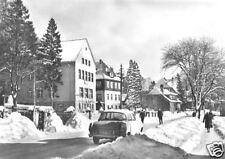 AK, Schierke Oberharz, Brockenstr. im Winter, Pkw, 1965