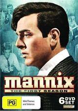Mannix : Season 1 (DVD, 2010, 6-Disc Set) BRAND NEW SEALED
