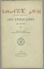 * Bulletin Société Nationale des Antiquaires de France,1957, Colbert de Beaulieu
