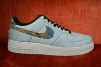 Nike Air Force 1 07 LV8 Afro Punk Denim Pack Armory Blue 718152 407 Womens Men's Casual Shoes Sneakers 718152 407