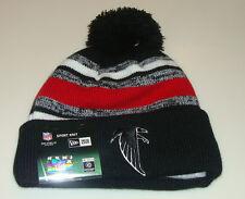 Atlanta Falcons Knit On Field New Era Hat Cap Toque Beanie Player Sideline Retro