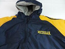 University of Michigan Mens XL Steve & Barry's Wolverines Varsity Jacket Jacket