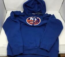 New York Islanders Majestic Sewn Logo Patch Adult Men's Size Medium Sweatshirt