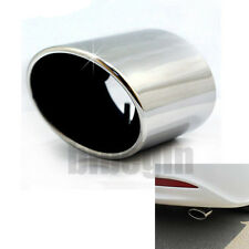 Chrome Stainless Steel Exhaust Muffler Tip Tail Pipe Fits 2008-2012 Honda Accord