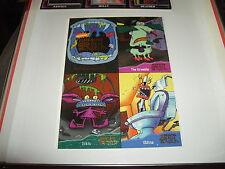 Fleer Ultra Aaaaaagh Real Monsters promo sheet