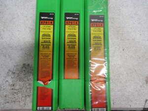 """Lot of 3 Forney 32110 E7014 Welding Rod, 1/8"""", 10 Lb."""