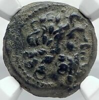 DEMETRIOS II Nikator 129BC Genuine Ancient SELEUKID Greek Coin ZEUS NIKE i82088