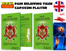 Capsicum Plaster TIGER Hot Pain Relieving Patches Muscle Relief+ Menthol Extract