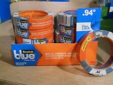 4 rolls 3M Scotch Blue Cabinets wood floors Painter's Tape .94 x 45 yards lot
