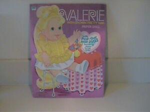 "VINTAGE 1971 ""VALERIE"" UNSUED PAPER DOLLS - MATTEL, INC"