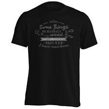 Las cosas están mejor dejar justifica para Hombres Camiseta/Camiseta sin mangas hh253m