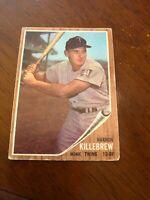 1962 Topps Harmon Killebrew Minnesota Twins #70 Baseball Card