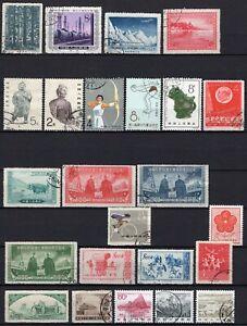 #388 - Cina - Lotto di 24 francobolli - Usati