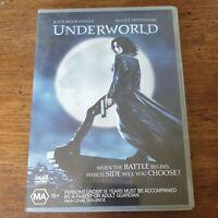 Underworld DVD R4 Like New! FREE POST