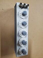 General Radio 1433 P Decade Resistor Ser 3601