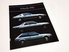 1982 Mazda GLC 626 RX-7 B2000 Full Line Brochure