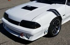 Race Louvers, 87-93 Fox Body Mustang Center Hood Vent Heat Extractor, RT Trim