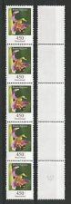 Bund Mi.Nr. 3191** (2015) postfrisch (5er-Streifen)/Blumen (Ragwurz)