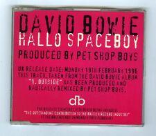 MAXI CD SINGLE (PROMO) DAVID BOWIE HALLO SPACEBOY (REMIXED)
