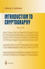 Introduction to Cryptography by Johannes Buchmann (2000, Hardcover)