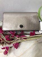 NWT Coach 1941 DINKY Platinum Metallic Shoulder Crossbody Bag  #35521