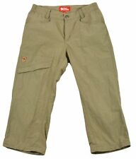 FjallRaven for Womens Doloa MT Trousers Comfort High Shorts Pants Size 34 Olive