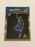 2016-17 Donruss Basketball Rookie Card - Kris Dunn RC - Minnesota Timberwolves