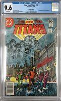 The New Teen Titans #26 CGC 9.6 1st Terra ~CANADIAN VARIANT~KEY ISSUE!L@@K!