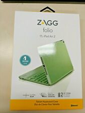 ZAGG Folio Tablet Keyboard Case with Bluetooth For iPad Air 2 - A1566 A1567