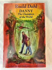 Roald Dahl DANNY CHAMPION OF THE WORLD  1st edition in dj knopf 1975