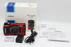Olympus Tough TG-5 12MP Waterproof Digital Camera -Red