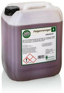 Felgenreiniger alkalisch Konzentrat 10 Liter Gloyers Original