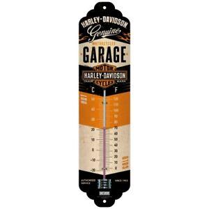 Harley Davidson Garage Thermometer Man Cave Tin Sign Temperature Gauge Gift