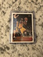 1996-97 Topps Kobe Bryant RC Rookie Card #138 Los Angeles Lakers