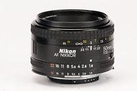 Nikon AF Nikkor 50mm 50 mm 1:1.8 1.8 Digital