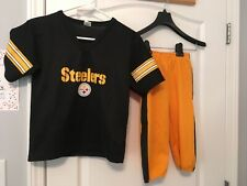 Franklin Pittsburgh Steelers 3T 4T 5T 6 uniform Kids SMALL Medium #21