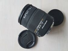 Sigma 18-50mm F2.8-4.5 DC OS HSM (for Canon), DEFECT