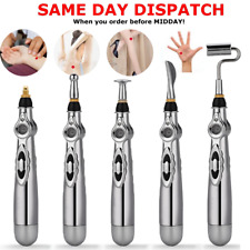 5 Heads Meridian Electronic Massage Acupuncture Pen Pain Relief Therapy