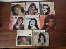 8x  disques anciens 45 tours RPM DALIDA années 60 et 70 (Lot 5/5)