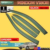 A-premium 4x Window Visors Rain Guards Shields For Ford Explorer Lincoln Mercury