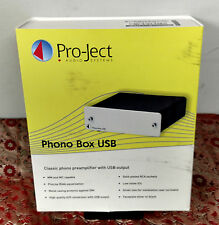 Pro-Ject Phono Box USB MM/MC Preamp - TESTED, OTHERWISE UNUSED