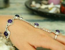 Bracelets avec pierres précieuses Handgefertigt