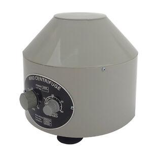 800D Electric Centrifuge Medical Lab Centrifuge 110V/220V 4000rpm With 6 *20ml