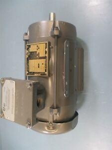 Baldor 1DXM7014T 1 HP 3 PH 1765 RPM Explosion Proof Motor - New