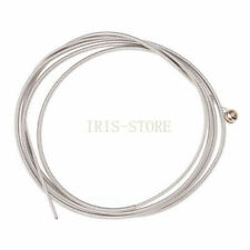 4PCS Stainless Steel Silver Plated Gauge Strings for 4-String Guitar Bass